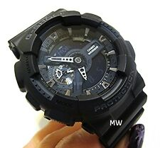 CASIO G-SHOCK TOUGH BODY GA110-1AB GA-110-1B BLACK LARGE CASE Watch AUTHENTIC