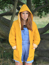 THE ORIGINAL CLASSIC YELLOW FISHERMAN RAINCOAT UNISEX / FESTIVAL / JACKET