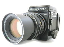 Mamiya RB67 ProS &SEKOR C 250 mm w/ rubber Hood Excellent+++ From JAPAN