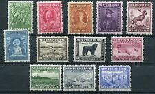 Canada Newfoundland 1932 set of 12 SG209/20 mounted mint