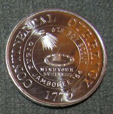 1964 National Boy Scout Jamboree Continental Currency Silver Coin Jambo Jam NJ
