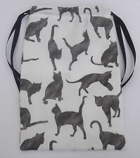 Cats Tarot card bag, ideal for Angel, Fairy & Wicca tarot cards, Halloween Gift