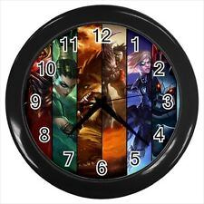 League of Legends (LoL) Characters  Wall Clock - MOBA eSports