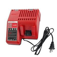 N18-120V 14V 18V Li-ion Battery Charger for Milwaukee Lithum Ion Battery
