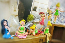 New 6pcs/Set New Tinkerbell Fairies Princess Action Figures PVC Doll Toy Gift