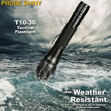 Zoomable 8000 Lumens 5 Mode CREE XML T6 LED 18650 Tactical Flashlight Torch Lamp