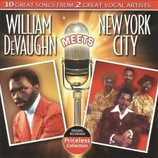 William DeVaughn Meets New York City * by New York City/William DeVaughn (CD,...