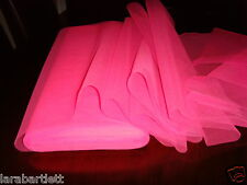 40 METRE ROLL FLUORESCENT PINK TUTU DRESS NET TULLE WEDDING FABRIC137CMS WIDE