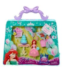 Disney Princess Little Kingdom Magiclip Birthday Party Bag Ariel Mermaid cake