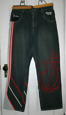 RARE NBA Miami Heat Men's Denim Jeans UNK Brand 36 x 32 MUST SEE!!!!