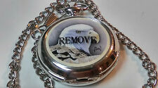 Al Agnew Westminster Eagle pocket watch,brand new with chain,very detailed  M733