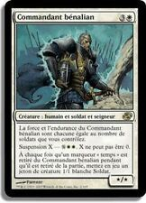 MTG Magic PLC - Benalish Commander/Commandant bénalian, French/VF