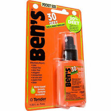Ben's 30 Formula - 30% DEET Tick/Insect Bug Repellent 1.25 fl. oz. Pump Spray