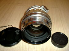 KMZ 1965 made !! Early silver Helios 40 1.5/85mm M42 M39.  s/n 653048.