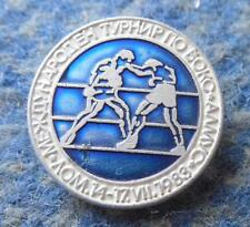 INTERNATIONAL TOURNAMENT BOXING ALMUS LOM BULGARIA 1983 PIN BADGE