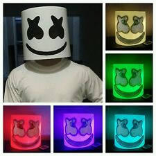 Marshmello LED Head DJ Mask Marshmallow Mellogang Mask