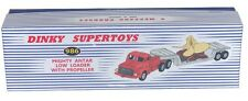 DINKY Reproduction Box 986 Mighty Antar Low Loader with Propeller Box Only