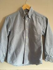 Brooks Brothers boys cotton blue oxford button down size M