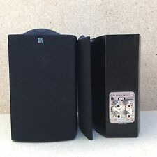 Black Pair Of KEF Bookshelf Speakers - Q Series Q Compact