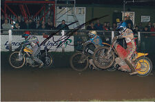 PAUL COOPER HAND SIGNED SCUNTHORPE SCORPIONS SPEEDWAY 6X4 PHOTO 9.