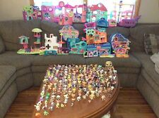 GIGANTIC Lot LPS Littlest Pet Shop Pets RARE Animals Houses Accessories Hundreds