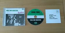 Belle And Sebastian Legal Man UK 2000 CD EP Jeepster JPRCDS018 Indie Rock