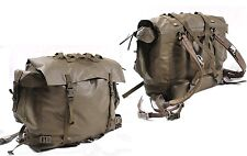 Genuine Ex-Army Waterproof Large Backpack In Olive Rubberized Alpine Troops 50L