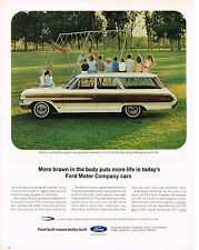 Vintage 1964 Magazine Ad Ford Country Squire To Support Population Explosion