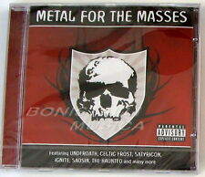 VARIOUS ARTISTS - METAL FOR the MASSES - CD Sigillato CELTIC FROST