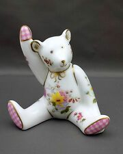 Royal Crown Derby POSIES BEAR GIRL Paperweight 1st Quality No Box