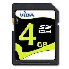 NEU Vida IT 4GB SD SDHC Speicherkarte Karte Für Canon PowerShot SX240 HS Kamera
