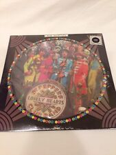 The Beatles Sgt Peppers 1978 Picture Disc LP Still Sealed !