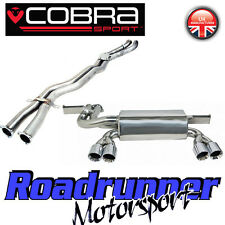"Cobra Sport BMW M3 E46 Cabriolet Exhaust System 2.5"" Stainless Cat Back Quad 3"""