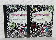 NEW Monster High Mansters DEUCE & GIL Lot of 2 Doll Diary Book Replacement Loose