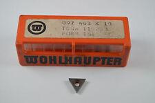 Wendeschneidplatten,WOHLHAUPTER  097463  K10,TCGW110203,FROM161,10Stück, RHV3196