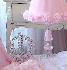 CRYSTAL BEADED CROWN SHABBY COTTAGE CHIC CHRISTMAS HOLIDAY DECORATION SPARKLES