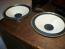 "Vintage MITSUBISHI ss 152 15"" woofers pair speakers only"