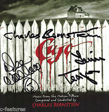 CUJO Score INTRADA CD Soundtrack SIGNED - CHARLES BERNSTEIN, DEE WALLACE, TEAGUE