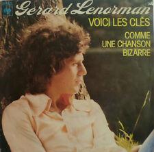 """7"""" 1977 NL-PRESS VG+ ! GERARD LENORMAN : Voici Les Cles"""