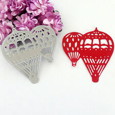 Hot Air Balloon metal Die cutting For DIY Scrapbook etched Photo Diary Cards