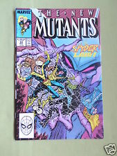 THE NEW MUTANTS- MARVEL COMIC - VOL 1  #69 - NOV 1988 - SPIDERS LAIR