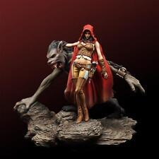 Unpainted 54MM Figures resin model kit Queen incluoe base