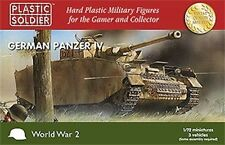 Plastic Soldier Company - World War 2 German Panzer IV (3) (1/72 scale)