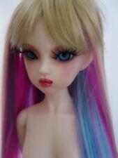 BLUE Fairy OOAK Narah Slim Mini msd dollfie bjd ball joint doll ELF