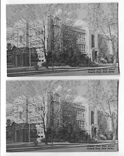 2 Vintage Roselle Park New Jersey NJ  Postcards  High School