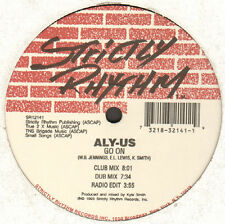 ALY-US - Time Passes On / Go On - Strictly Rhythm