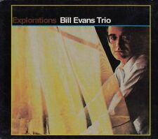 CD Album Billy Evans Trio Explorations (Israel, Haunted Heart) ZYX Records