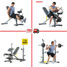 Workout Bench Machine Home Gym Equipment Training Fitness Strength Exercise Fit