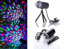 2x LED Disco DJ Party Sprachsteuerung Club Lichteffekt RGB Bühnenbeleuchtung