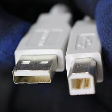 70in USB 2.0 Printer Cable A Male to B Male Cable White